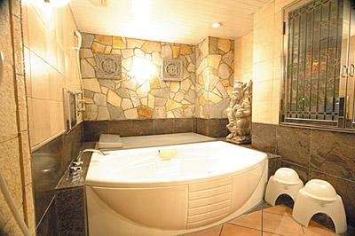 203号室のお風呂